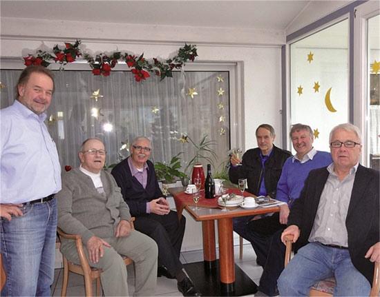 Herbert Hackenbruch von der Thürer Mühle feierte