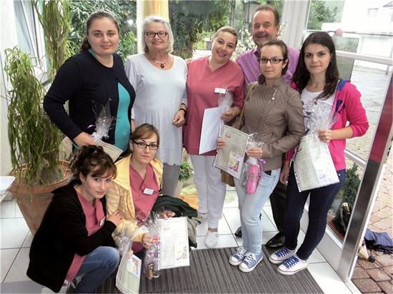 Maranatha:Rumänische Pflegefachkräfte zu Gast in Sinzig Bad Bodendorf