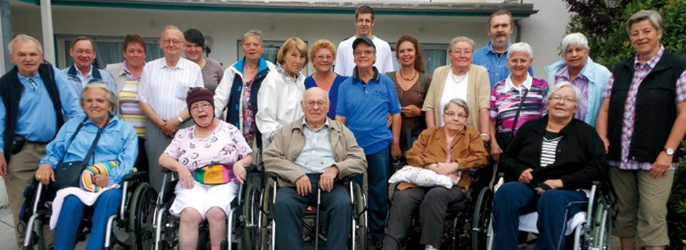 Bewohner des Maranatha SeniorenZentrums in Sinzig-Bad Bodendorf auf einem Bewohner- Ausflug in die Eifel.