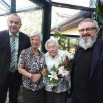 Herzlichen Glückwunsch an Elfriede Pohle zum 102. Geburtstag!