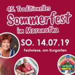 45. Traditionelles Sommerfest des Maranatha